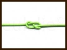 1m: Elastiek met een dikte van 1mm: Fluor Groen.