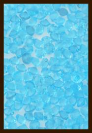 50st. Acryl Similisteentjes van 2.5mm: Licht Blauw.