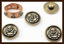 CH05: Chunk-Drukknoop-Easy Button van 18mm: Boedha.
