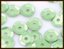 P05: 2gr. Pailletten Rond: Groen.