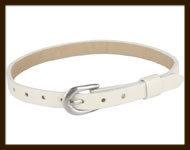 LSK915: Imitatieleren armband 15-22cm, geschikt voor schuifkralen. Kleur: Zandkleur.