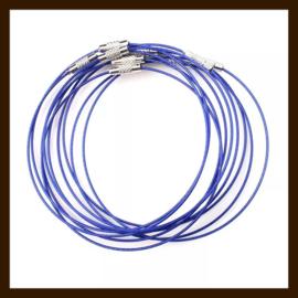 Spang Ketting van 46cm: Donker Blauw.