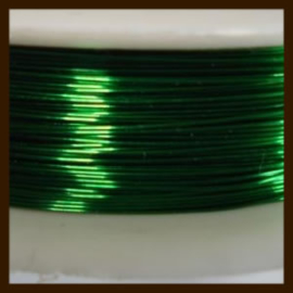 Rol Staaldraad 0.38mm, lengte 10m: Groen.