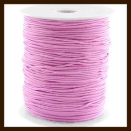 5m: Elastiek met een dikte van 1mm: Roze.