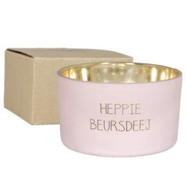 SOJAKAARS - HEPPIE BEURSDEEJ - GEUR: GREEN TEA TIME