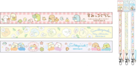 Sumikkogurashi lanyards - choose your favorite