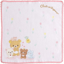 Chairoikoguma's Friends cloth | pink