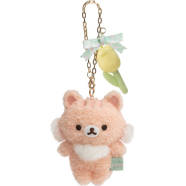 Chairoikoguma's Friends plush hanger | Cheryblossom Squirrel