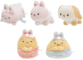 Sumikkogurashi Mysterious Rabbit tenori plush - choose your favorite