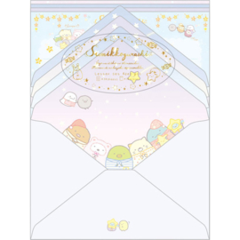 Sumikkogurashi Pajama Party briefpapier set