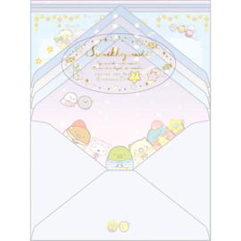 Sumikkogurashi Pajama Party letter set