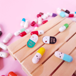 Pins | Chill pill & Happy pill - pick your favorite