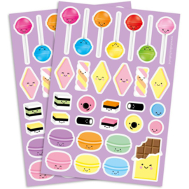 Stickers cute sweets