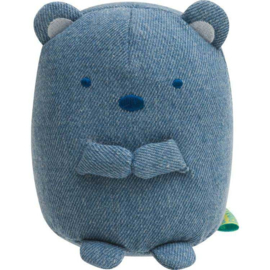 Sumikkogurashi Coordinate Denim Shirokuma plush | 10 cm
