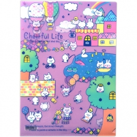 FREE A4 file folder Q-Lia Cheerful Life if you meet the SPECIAL OFFER conditions