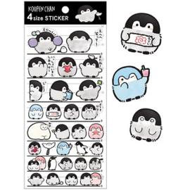 Koupen Chan stickers | black