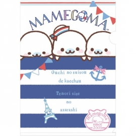 A4 file folder San-X Mamegoma Sailor