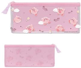 Kirby clear flat pen pouch