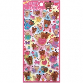 Sticker sheet Heart To Heart