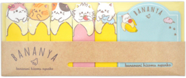 Sticky notes Bananya brown