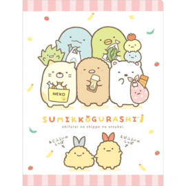 Document folder Sumikkogurashi Ebifurai no Shippo no Otsukai