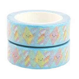 Washi tape marshmallows