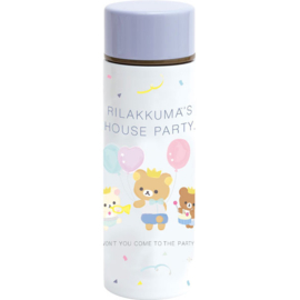 Rilakkuma Style House Party stainless steel bottle