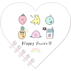 Memoblok Q-Lia Happy Fruits