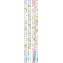 Sumikkogurashi Mysterious Rabbit 2B pencils set