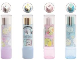 Sumikkogurashi Lipstick erasers - shop your favorite