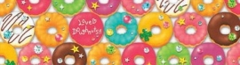 Decorated tape large Donuts