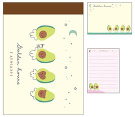 Memo pad small Crux Golden Hours Avocado