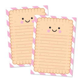 Writing pad A5 cookie