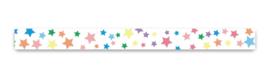 Washi tape colored stars