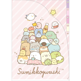 A4 index file Sumikkogurashi