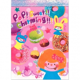 Memo pad small Crux Pop Sweet Charming