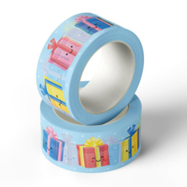 Washi tape happy gifts | blue