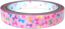 Deco tape medium Colorful Bows