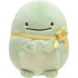 Sumikkogurashi Pajama Party knuffel | Real Lizard | 14 cm