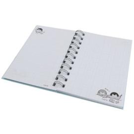 Koupen Chan ring binder notebook   blue