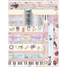 Sentimental Circus Kuroneko Fantasia briefpapier set