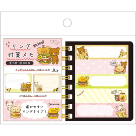 Sticky notes Rilakkuma Deli Dinner
