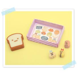 Sumikko Bread School gummensets - kies je favoriet