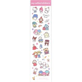 Stickervel Sanrio Characters | roze