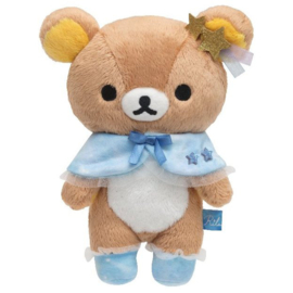 Rilakkuma Chairoikoguma and a Starry Night knuffel | 21 cm