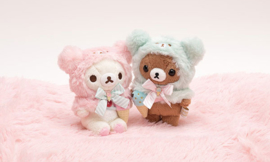 Korilakkuma Happy Ice Cream knuffel | S size