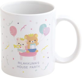 Rilakkuma Style House Party mok