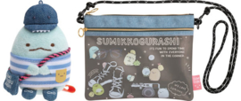 Sumikkogurashi Coordinate bag + Tokage tenori plush