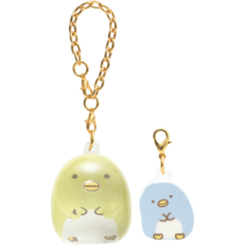 Sumikkogurashi hanger Penguin? & Real Penguin