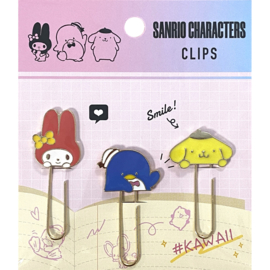 Paperclips Sanrio Characters paars